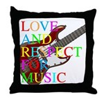 kuuma music 5 Throw Pillow