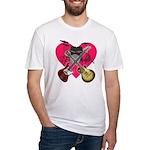 kuuma band 1 Fitted T-Shirt