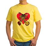 kuuma band 1 Yellow T-Shirt