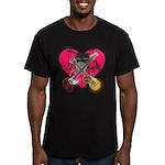 kuuma band 1 Men's Fitted T-Shirt (dark)