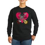 kuuma band 1 Long Sleeve Dark T-Shirt