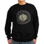 The Zombie Wants Brains! Sweatshirt (dark)