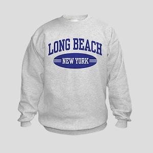 Long Beach New York Kids Sweatshirt