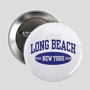 """Long Beach New York 2.25"""" Button"""