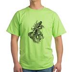 kuuma dragon music 1 Green T-Shirt