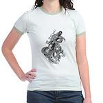 kuuma dragon music 1 Jr. Ringer T-Shirt