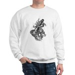 kuuma dragon music 1 Sweatshirt
