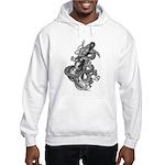 kuuma dragon music 1 Hooded Sweatshirt