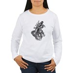 kuuma dragon music 1 Women's Long Sleeve T-Shirt