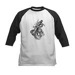 kuuma dragon music 1 Kids Baseball Jersey