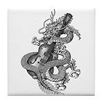 kuuma dragon music 1 Tile Coaster