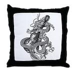 kuuma dragon music 1 Throw Pillow