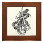 kuuma dragon music 1 Framed Tile
