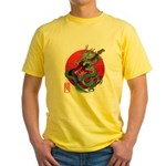 kuuma dragonguitar 3 Yellow T-Shirt