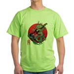 kuuma dragonguitar 3 Green T-Shirt