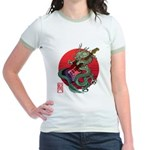 kuuma dragonguitar 3 Jr. Ringer T-Shirt