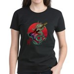 kuuma dragonguitar 3 Women's Dark T-Shirt