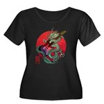 kuuma dragonguitar 3 Women's Plus Size Scoop Neck