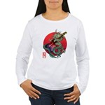 kuuma dragonguitar 3 Women's Long Sleeve T-Shirt