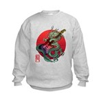 kuuma dragonguitar 3 Kids Sweatshirt