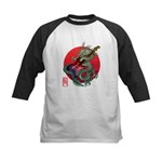 kuuma dragonguitar 3 Kids Baseball Jersey