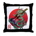 kuuma dragonguitar 3 Throw Pillow