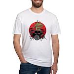 kuuma dragon drum 1 Fitted T-Shirt