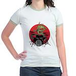kuuma dragon drum 1 Jr. Ringer T-Shirt