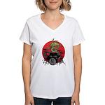 kuuma dragon drum 1 Women's V-Neck T-Shirt