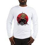 kuuma dragon drum 1 Long Sleeve T-Shirt