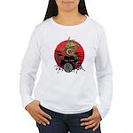 kuuma dragon drum 1 Women's Long Sleeve T-Shirt