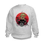 kuuma dragon drum 1 Kids Sweatshirt