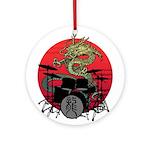 kuuma dragon drum 1 Ornament (Round)