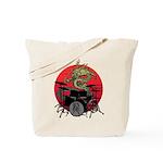 kuuma dragon drum 1 Tote Bag