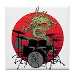 kuuma dragon drum 1 Tile Coaster