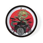 kuuma dragon drum 1 Wall Clock