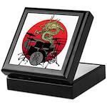 kuuma dragon drum 1 Keepsake Box