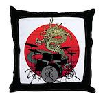 kuuma dragon drum 1 Throw Pillow