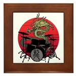 kuuma dragon drum 1 Framed Tile