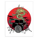kuuma dragon drum 1 Small Poster