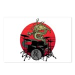 kuuma dragon drum 1 Postcards (Package of 8)
