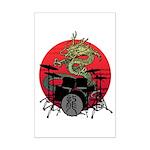 kuuma dragon drum 1 Mini Poster Print
