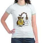 Let's break stereotypes ! Jr. Ringer T-Shirt