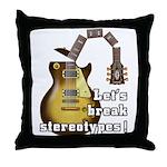 Let's break stereotypes ! Throw Pillow