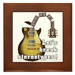 Let's break stereotypes ! Framed Tile