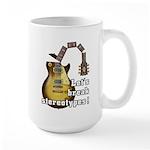 Let's break stereotypes ! Large Mug