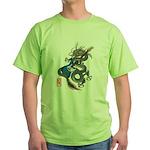 dragon bass Green T-Shirt