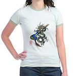 dragon bass Jr. Ringer T-Shirt
