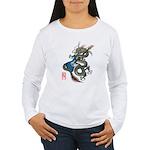 dragon bass Women's Long Sleeve T-Shirt
