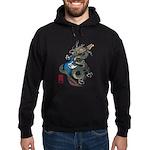 dragon bass Hoodie (dark)